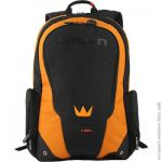 Рюкзак для ноутбука CROWN CMBPV-117BBO (Vigorous Series) black and orange 17""
