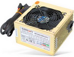 Блок питания CROWN Блок питания CM-PS420W (400W)  (20+4in, 120mm FAN, SATA*2, PATA(big Molex)*4, FDD*1, 4+4pin,  RTL)