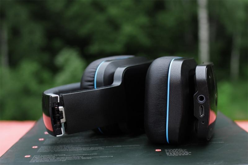 Обзор и тестирование, характеристики и фото беспроводных bluetooth наушников CROWN CMBH-9300.