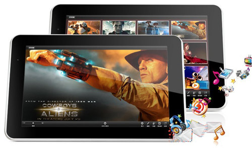 Мощный 4-ядерный планшет с большим экраном 9