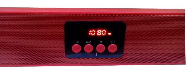 Компактная Стерео-колонка портативная UBS-7210, с автономным питанием и съёмным аккумулятором. Удобна для подключения планшета, ноутбука, мобильного телефона, MP4-плеера и пр.