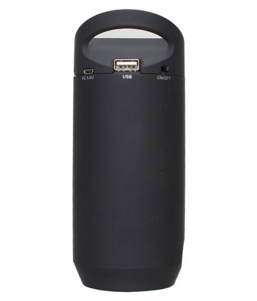 Компактная Стерео-колонка портативная UBS-809-LED, BT-809L с автономным питанием и съёмным аккумулятором. Удобна для подключения планшета, ноутбука, мобильного телефона, MP4-плеера и пр.