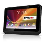 "Планшет CROWN CM-B901 Display: 9"" HD 1024*600  Action 7021 1.2ghz,  RAM: 512MB FLASH: 8GB Camera: front 0.3M,back 0.3mp WIFI, 802.11 b/g/n,  battery 3500mAH, Android 4.2 (чехол книжка, защит.пленка, OTG каб) черный"